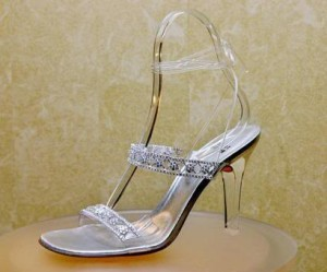Stuart Weitzman's Cinderella Slippers