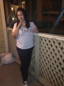 Mayra Rosales dengan bobot 90kg