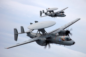 Pesawat Tempur E-2D Advanced Hawkeye