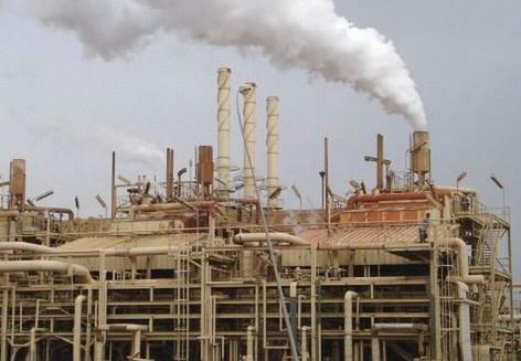 Kilang Minyak di Irak