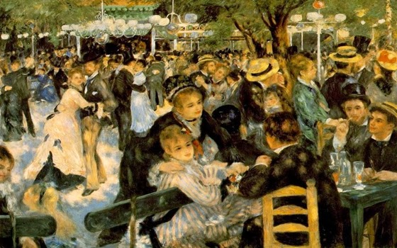 Dance at the Moulin de la Galette