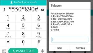 Kode Rahasia Paket Internet Murah Telkomsel di #363,